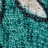Jersey-Rock in Maxilänge mit Print, TEAL GREEN, swatch