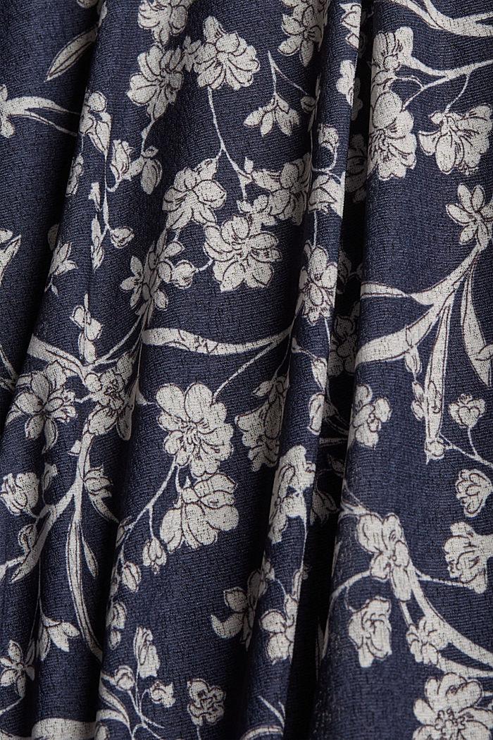 Jersey rok in maxilengte met print, NAVY, detail image number 4