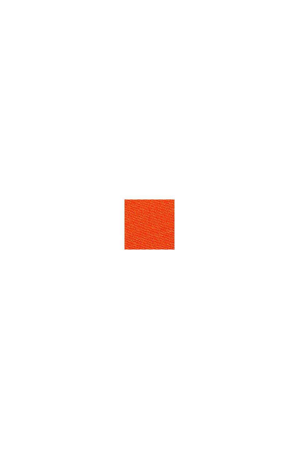Midirok met LENZING™ ECOVERO™, ORANGE RED, swatch