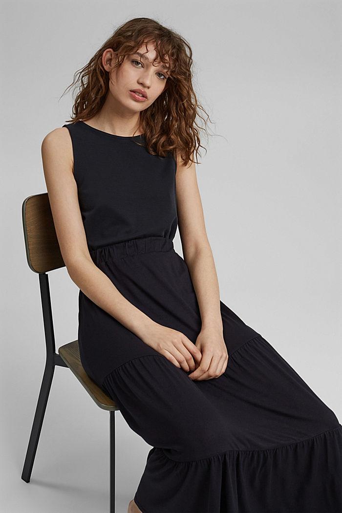 Jersey skirt made of LENZING™ ECOVERO™