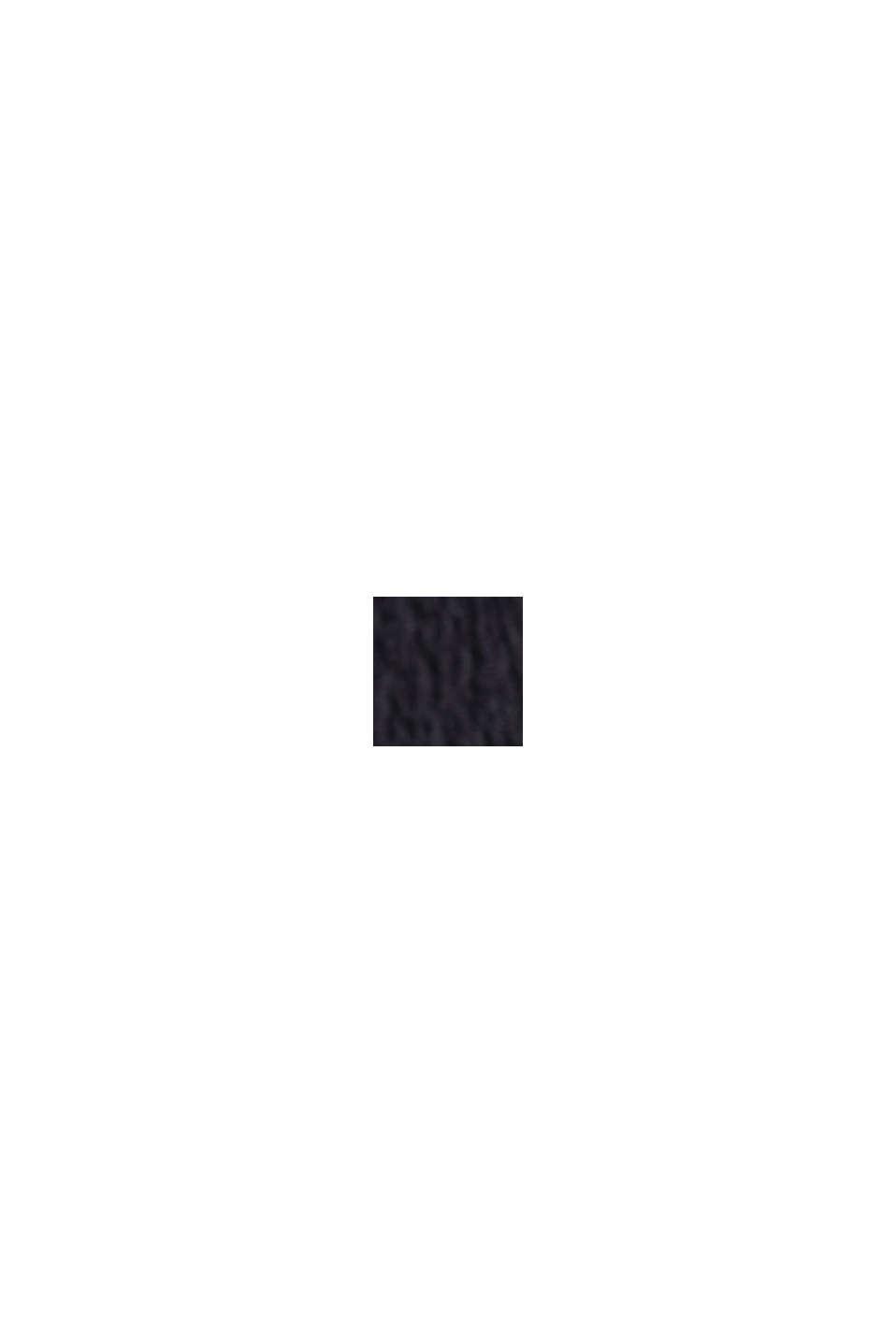 Jerseynederdel af LENZING™ ECOVERO™, BLACK, swatch