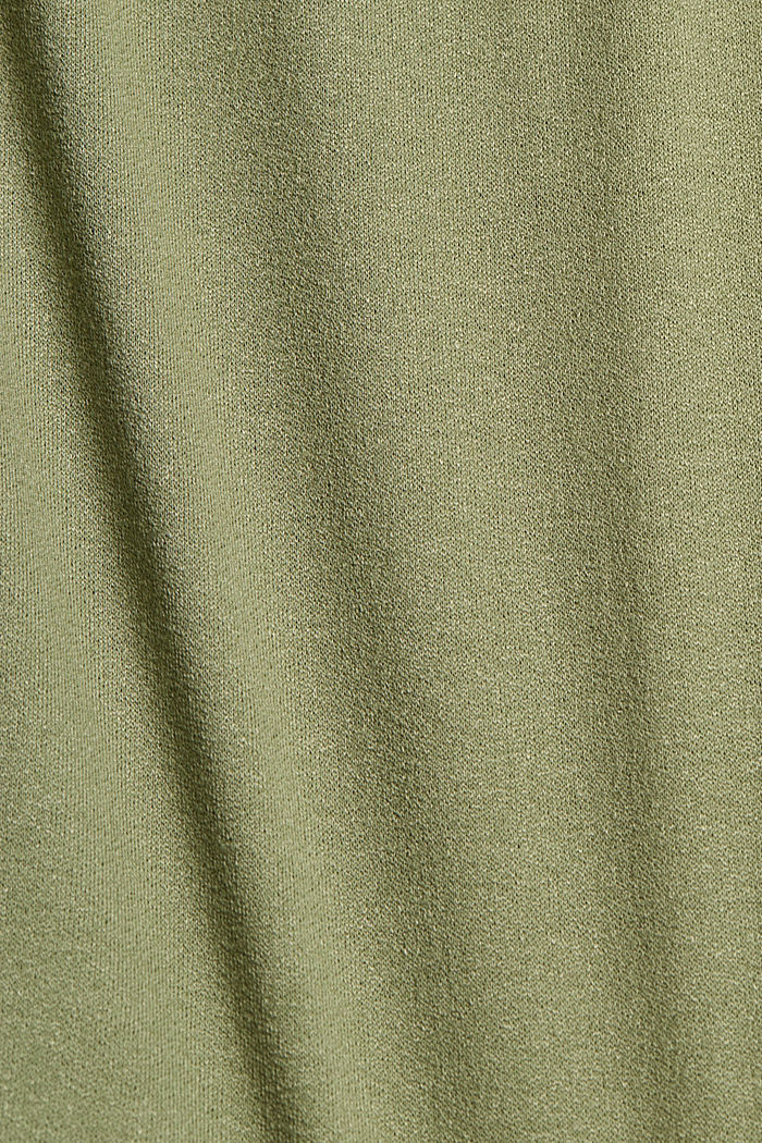 Jupe en jersey en LENZING™ ECOVERO™, LIGHT KHAKI, detail image number 4