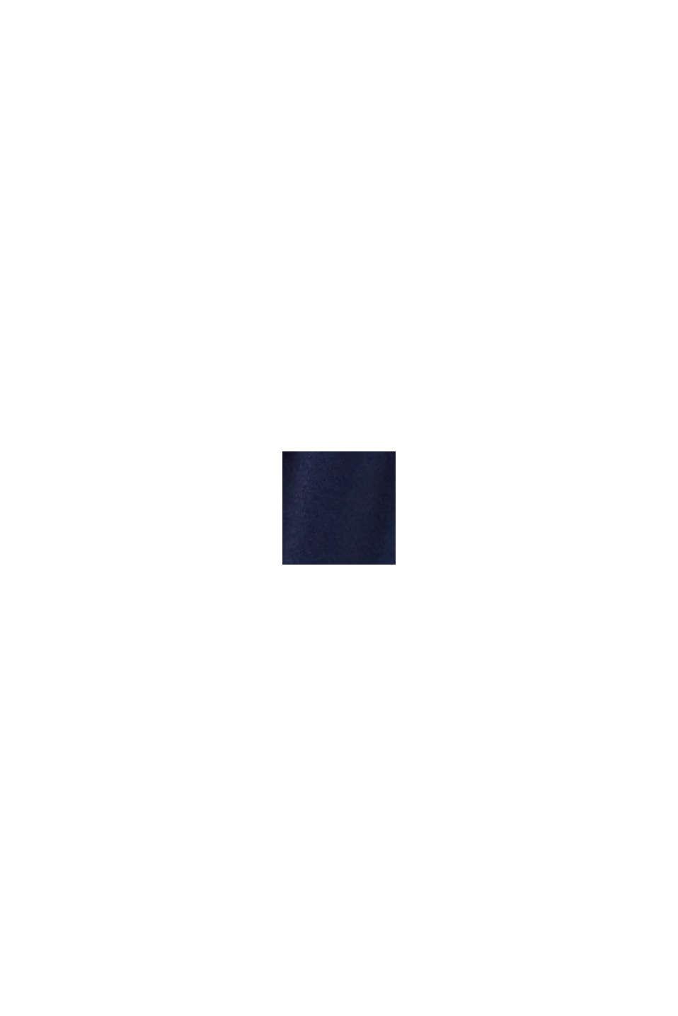 Jerseynederdel af LENZING™ ECOVERO™, NAVY, swatch