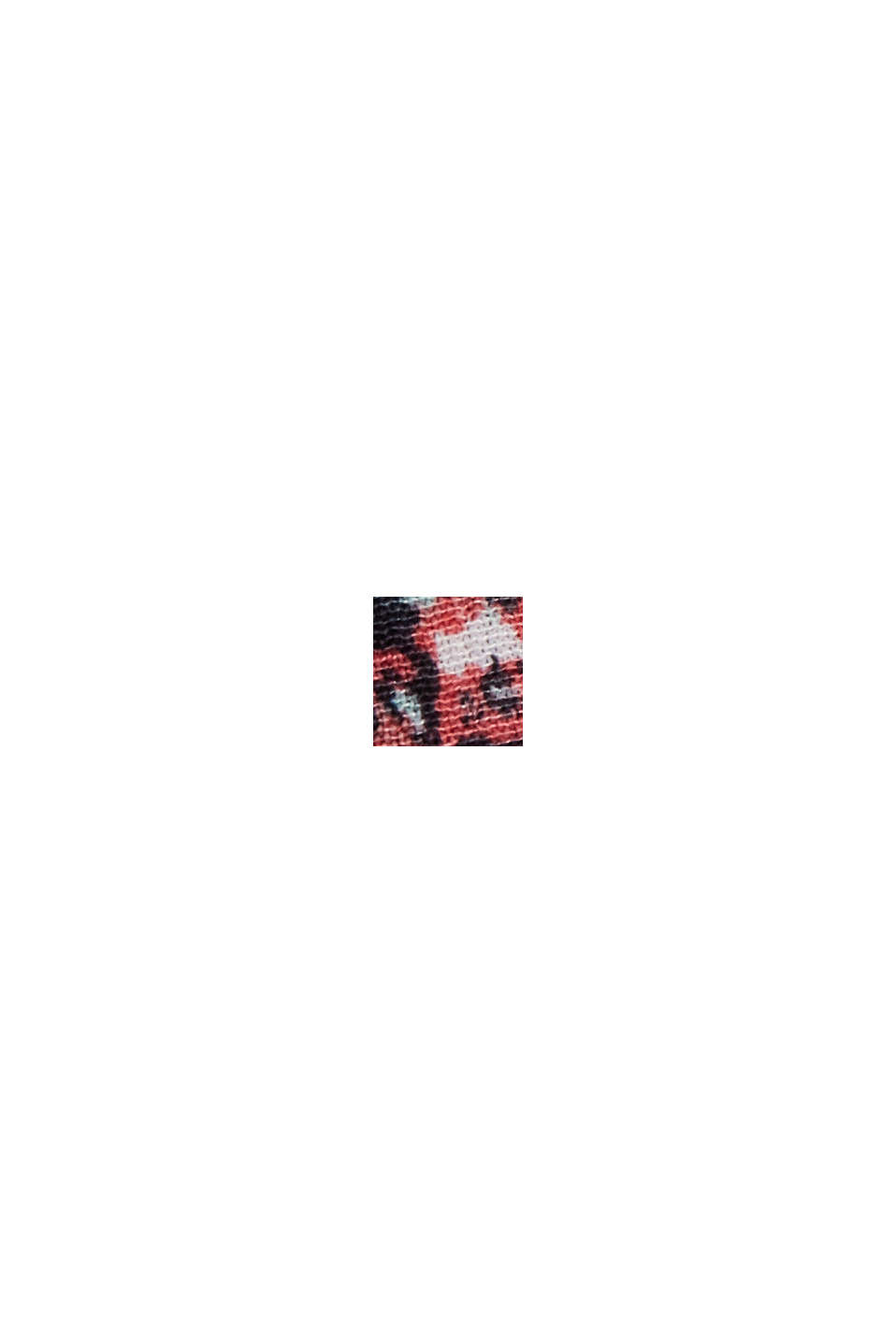Volant-nederdel af LENZING™ ECOVERO™, BLACK, swatch