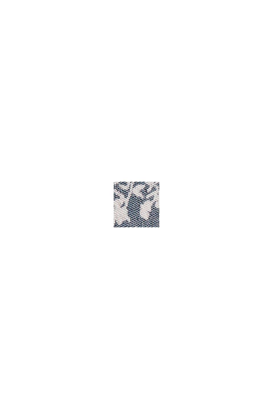 Volant-nederdel af LENZING™ ECOVERO™, BRIGHT BLUE, swatch
