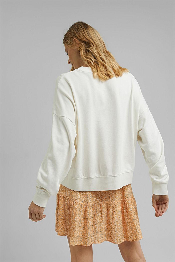 Flounce skirt made of LENZING™ ECOVERO™, ORANGE RED, detail image number 3