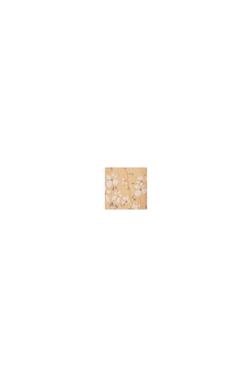 Volant-nederdel af LENZING™ ECOVERO™, ORANGE RED, swatch