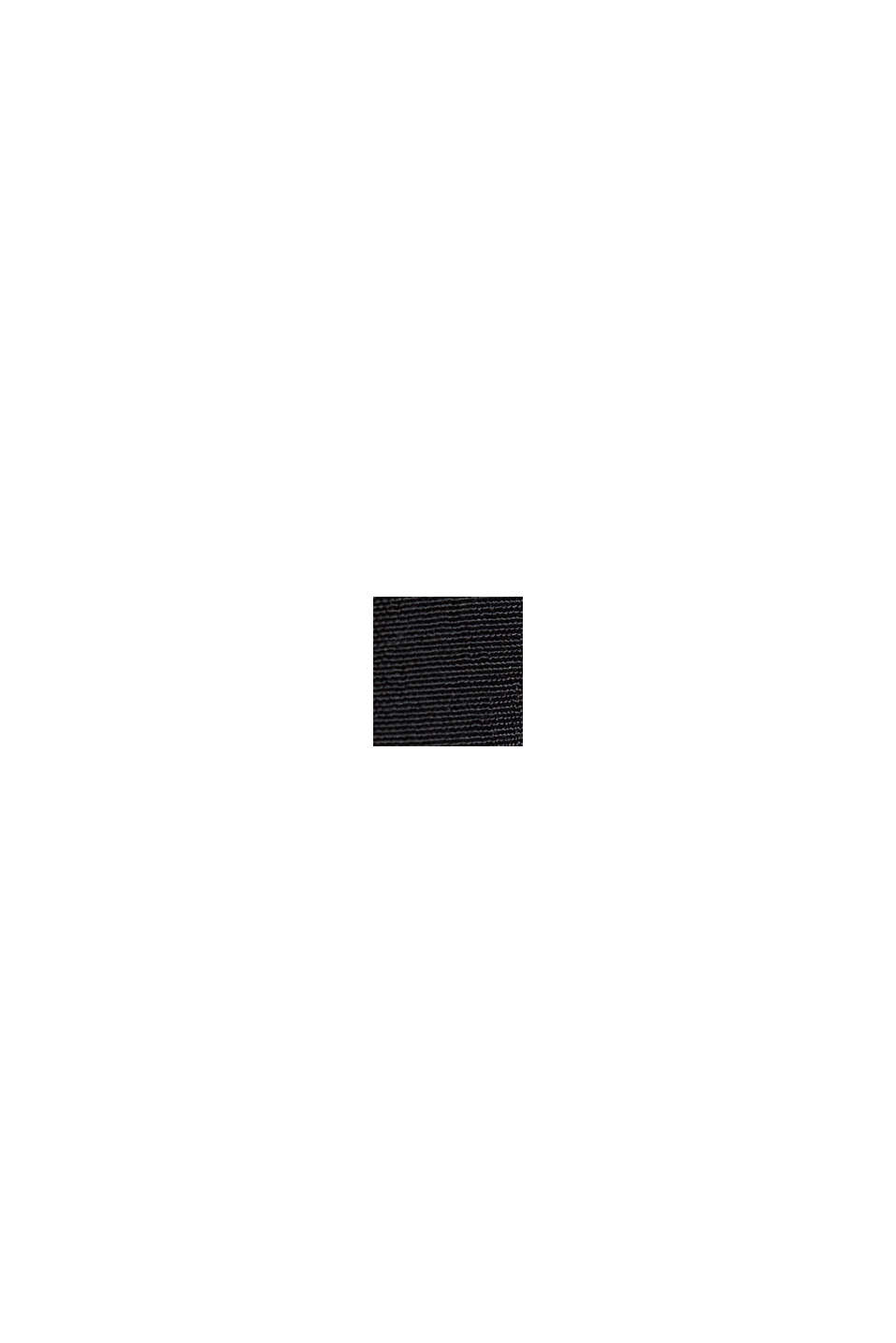 Volant-Rock aus LENZING™ ECOVERO™, BLACK, swatch