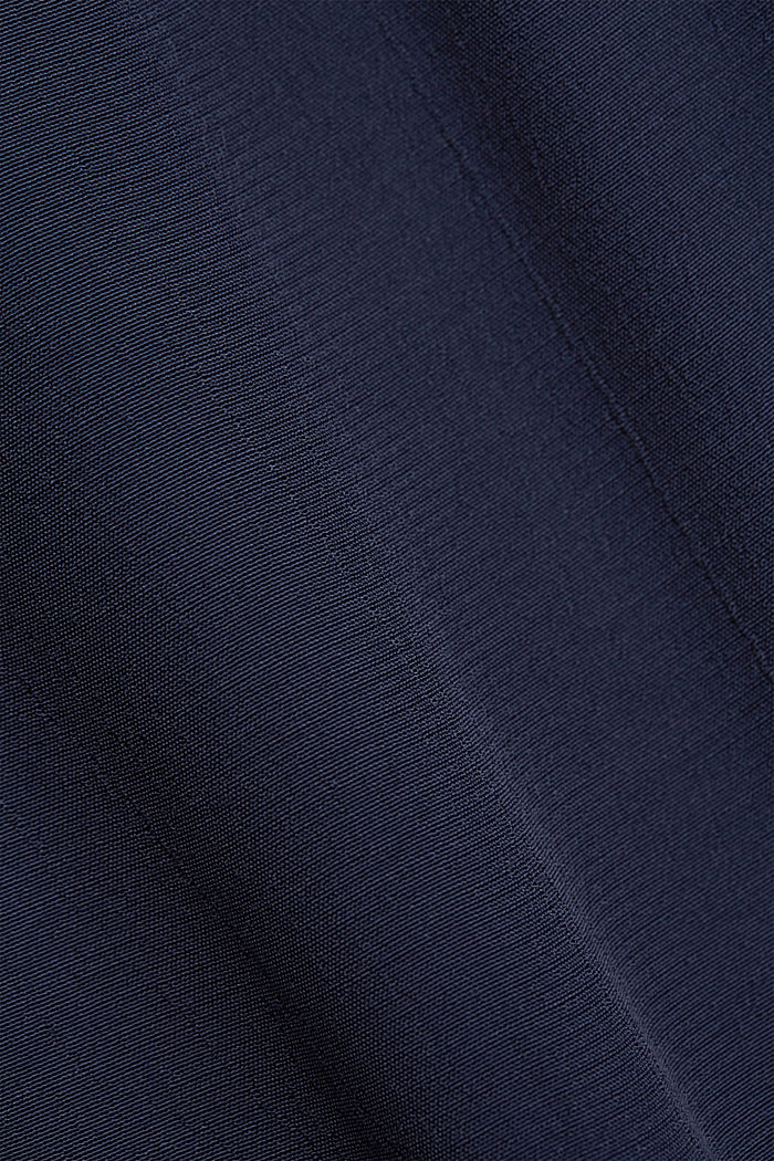 Volant-Rock aus LENZING™ ECOVERO™, NAVY, detail image number 4