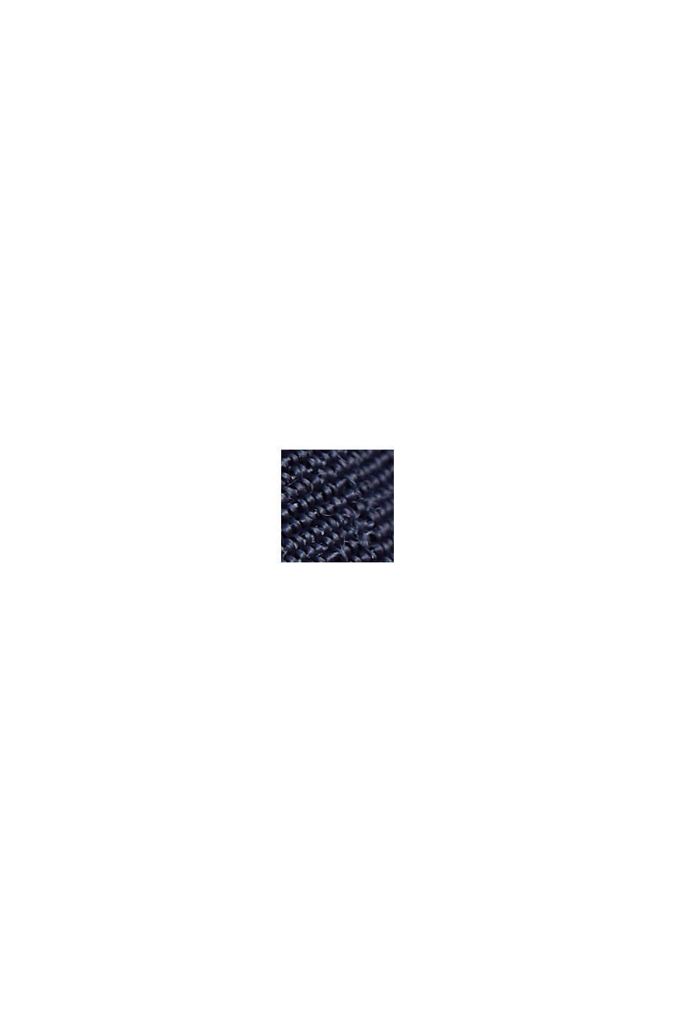 Volant-nederdel af LENZING™ ECOVERO™, NAVY, swatch