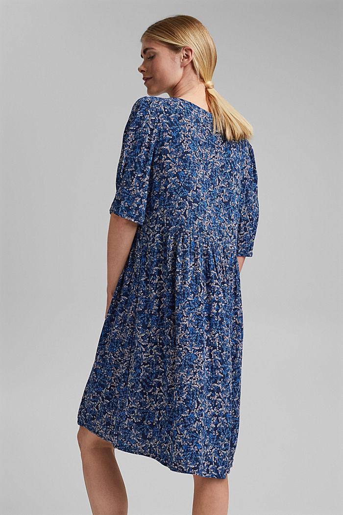 Mille-fleurs dress made of LENZING™ ECOVERO™, NAVY, detail image number 2