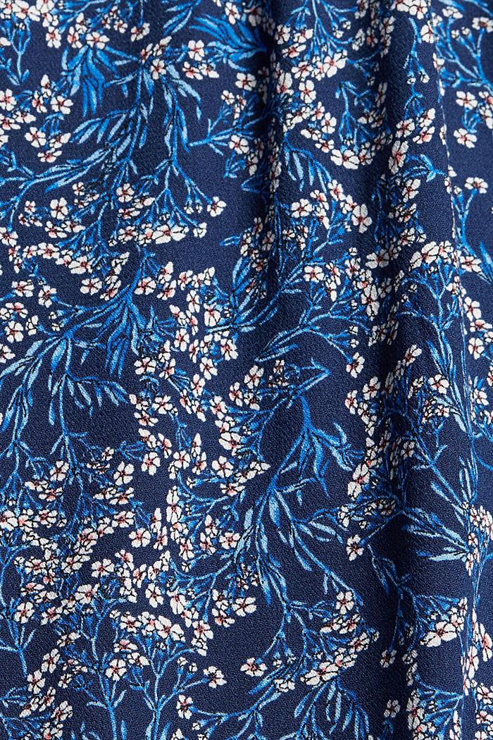 Mille-fleurs dress made of LENZING™ ECOVERO™, NAVY, detail image number 4