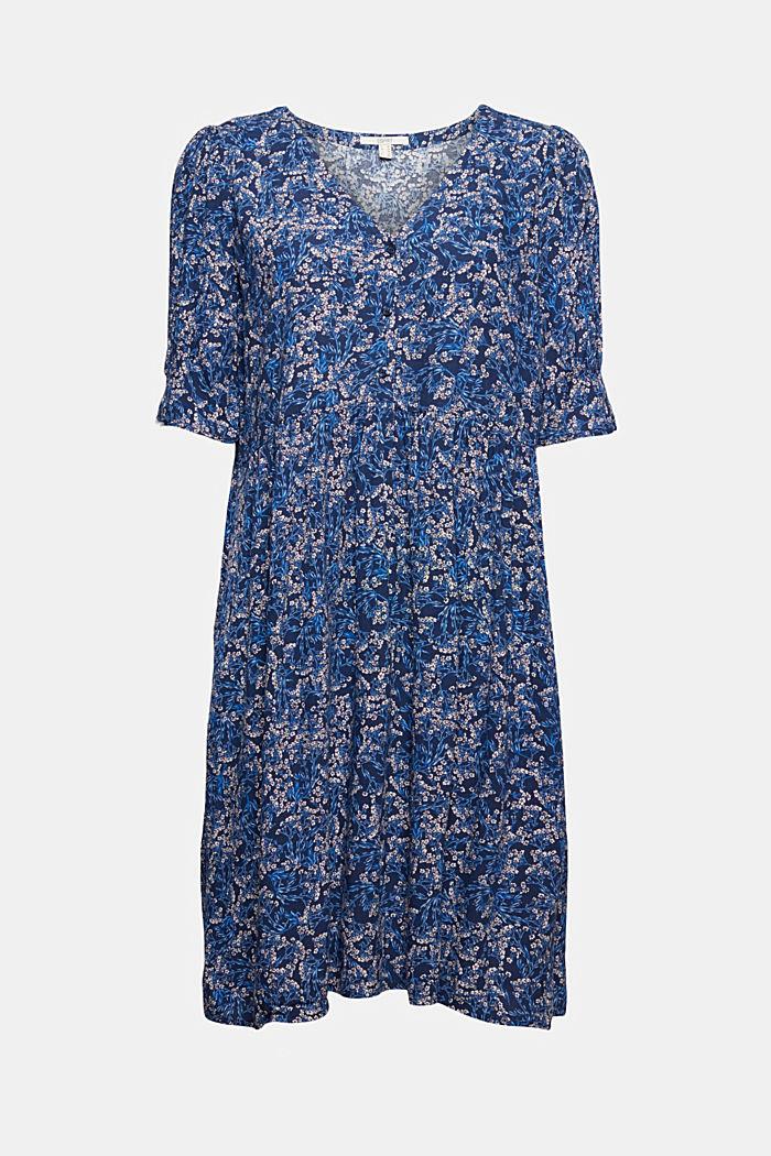 Vestido con estampado de flores en LENZING™ ECOVERO™