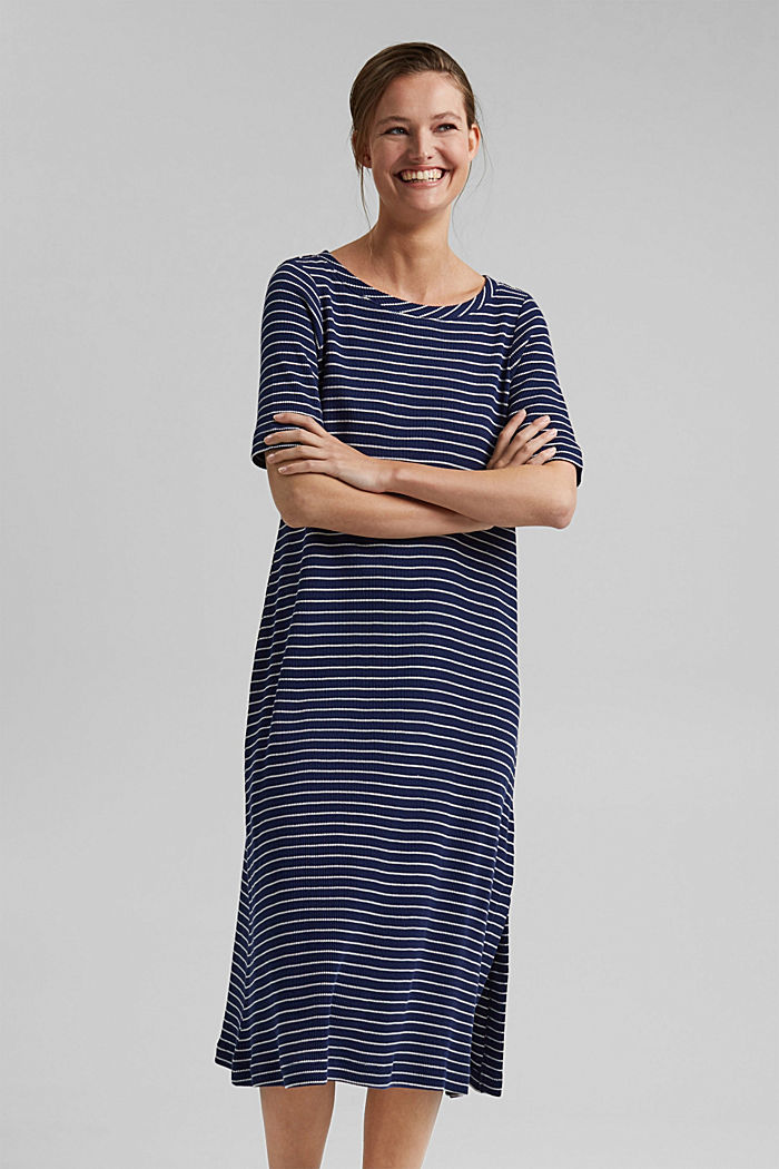 Jersey dress in organic cotton