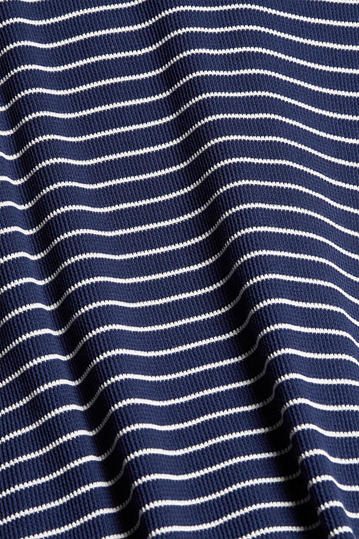 Robe en jersey de coton biologique, DARK BLUE, detail image number 4