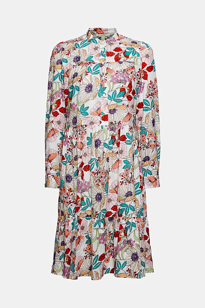 Robe-chemise à imprimé, coton biologique