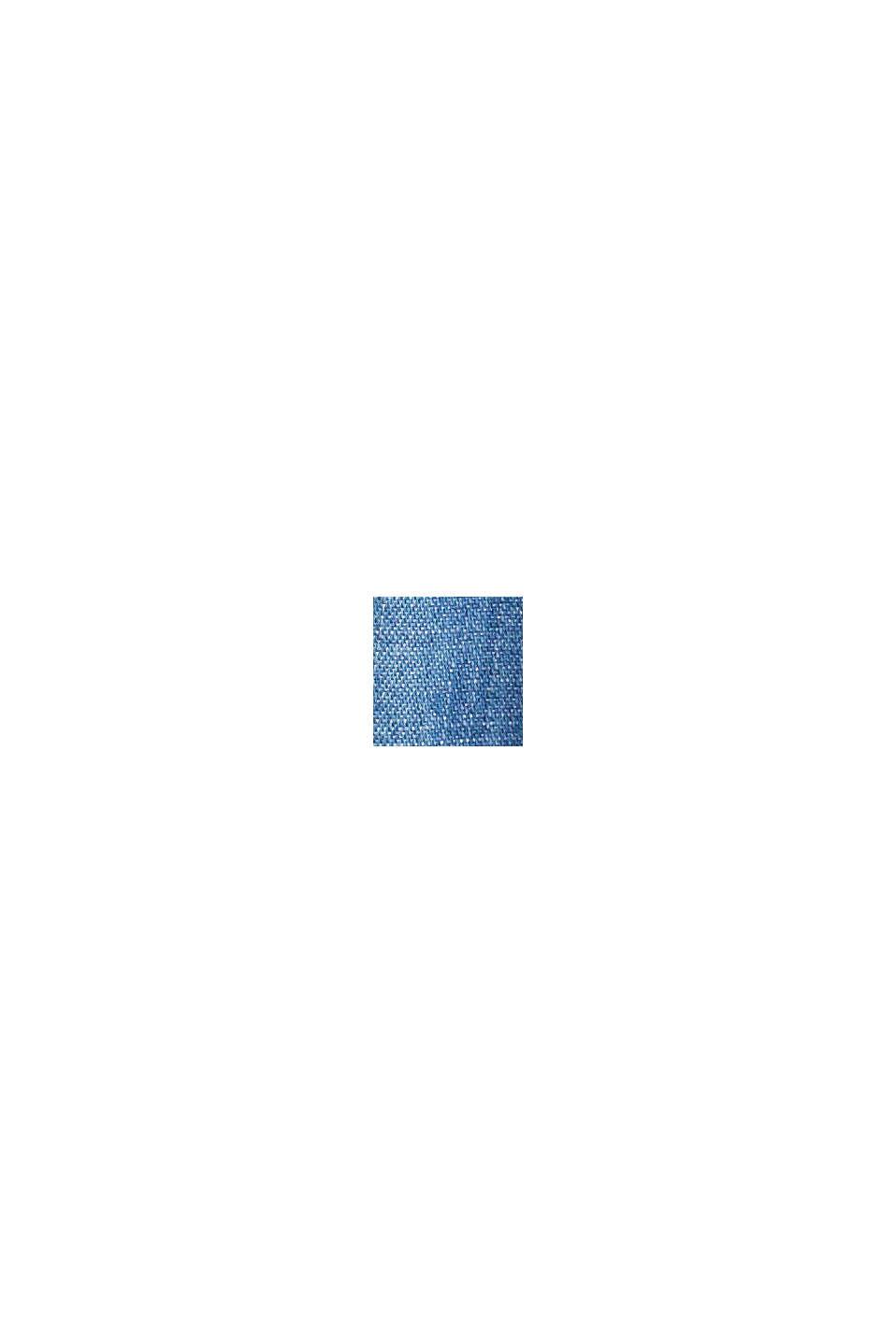 CURVY TENCEL™: abito di jeans con volant, BLUE MEDIUM WASHED, swatch