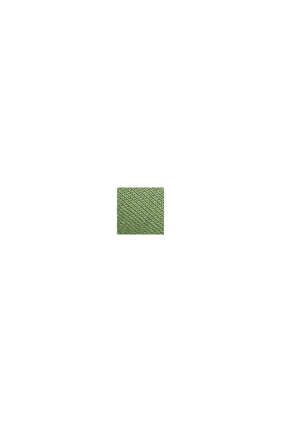 Jerseykleid aus Organic Cotton, LEAF GREEN, swatch