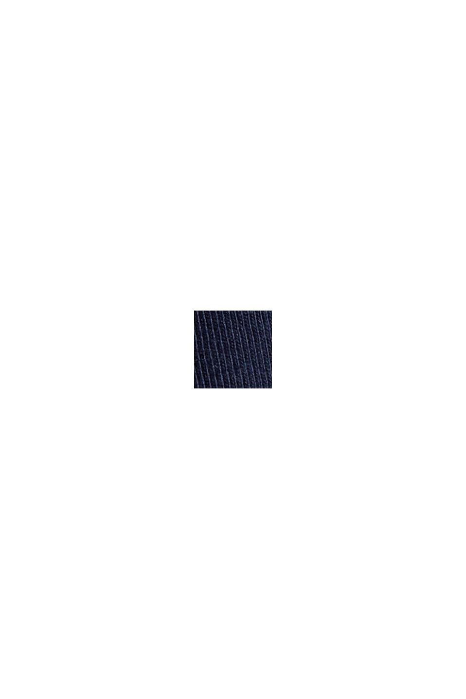 Jerseykleid aus Organic Cotton, NAVY, swatch