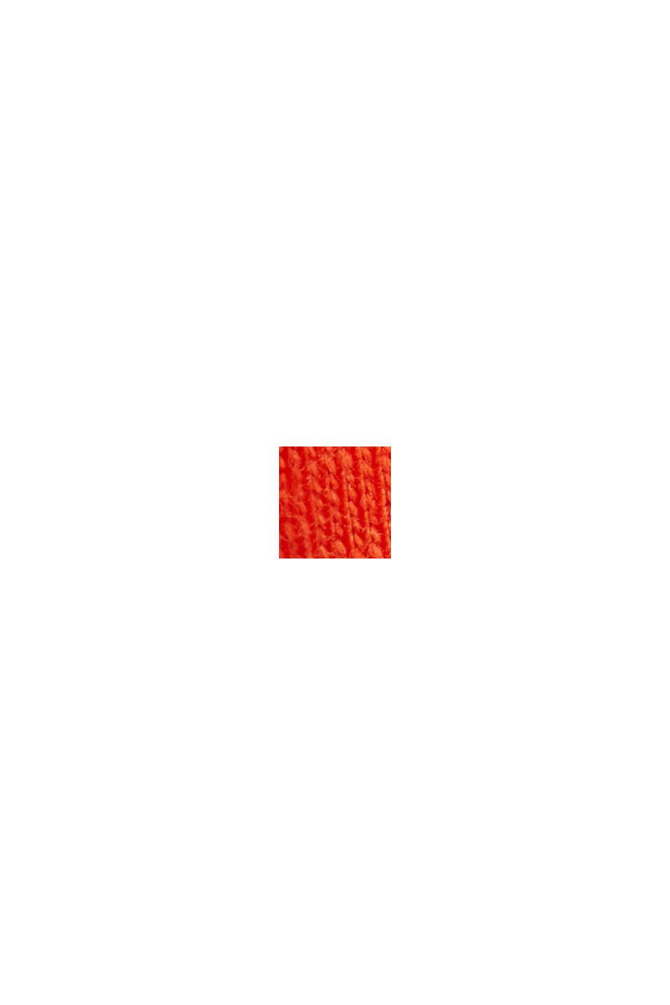 Jerseykleid aus Organic Cotton, ORANGE RED, swatch
