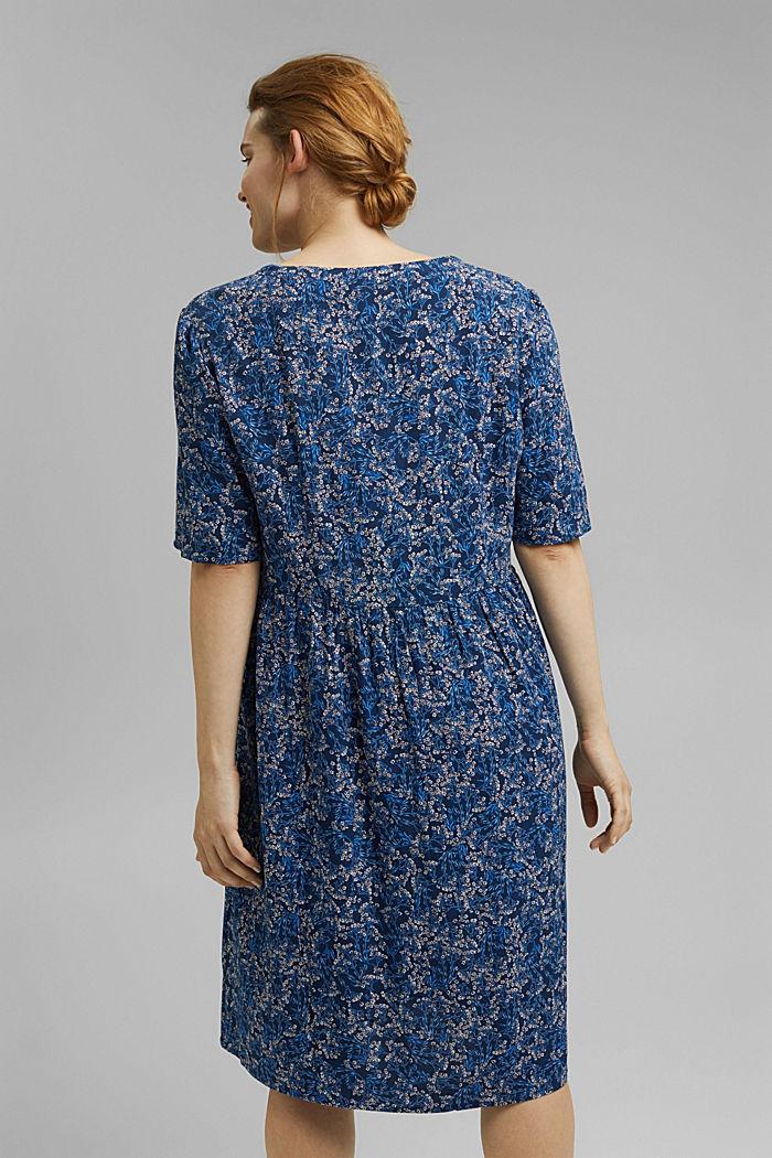 Millefleurs-Kleid aus LENZING™ ECOVERO™, NAVY, detail image number 2