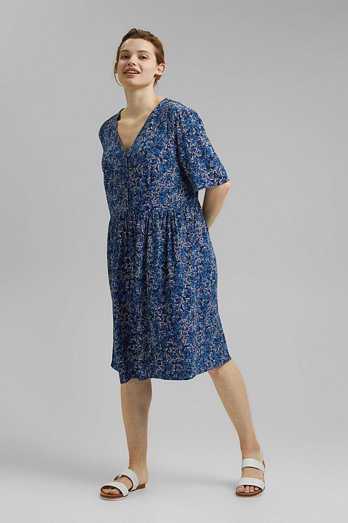 Mille-fleurs dress made of LENZING™ ECOVERO™
