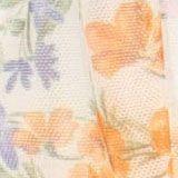 CURVY Mesh-Kleid mit Volant und Print, OFF WHITE, swatch