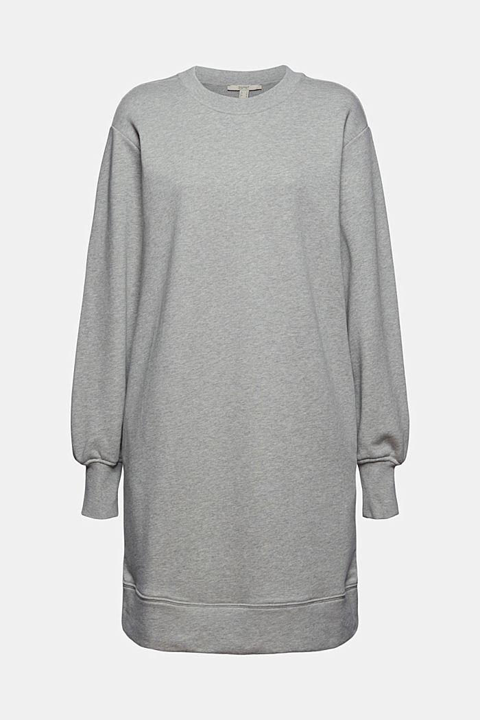 Sweatkleid aus 100% Baumwolle