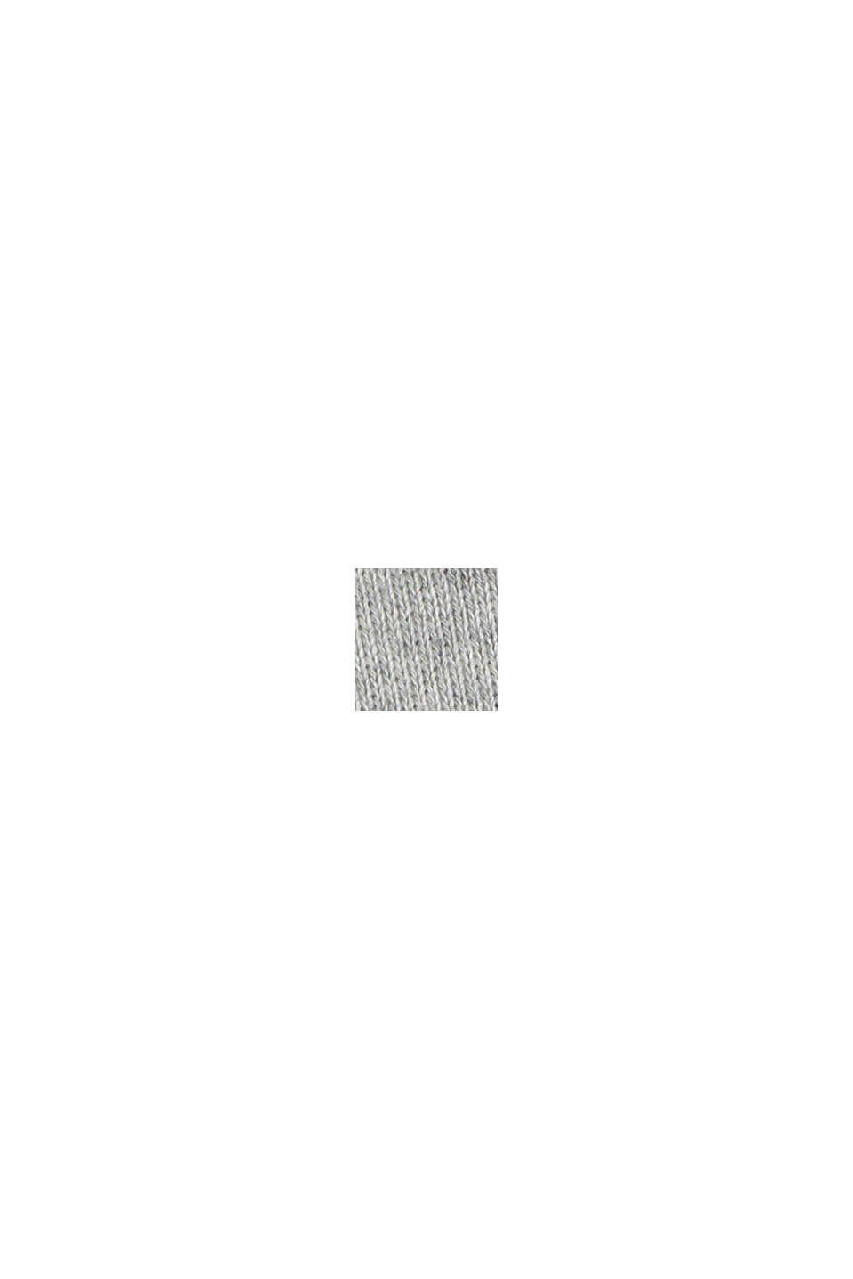 Sweatkleid aus 100% Baumwolle, LIGHT GREY, swatch