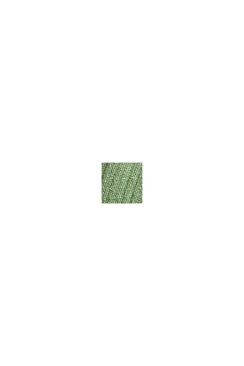 Krinklad blus i LENZING™ ECOVERO™, LEAF GREEN, swatch