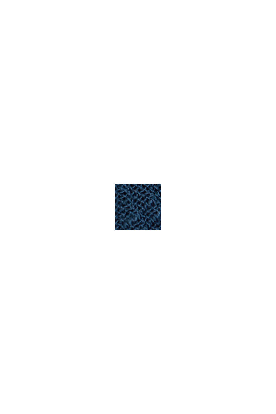 Crinkle-Bluse aus LENZING™ ECOVERO™, NAVY, swatch