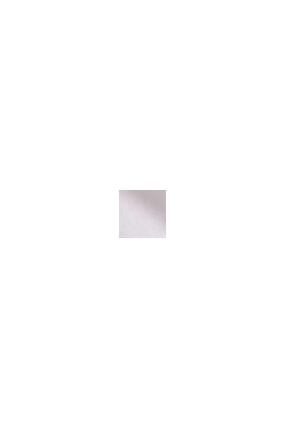 Blusa oversize a maniche corte, WHITE, swatch