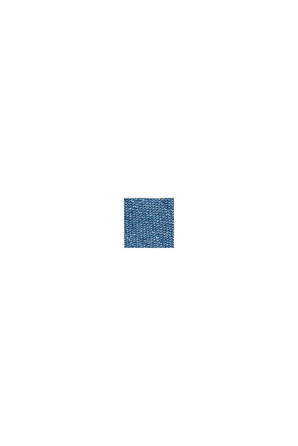 Z tkaniny TENCEL™: bluzka z imitacji dżinsu, BLUE MEDIUM WASHED, swatch