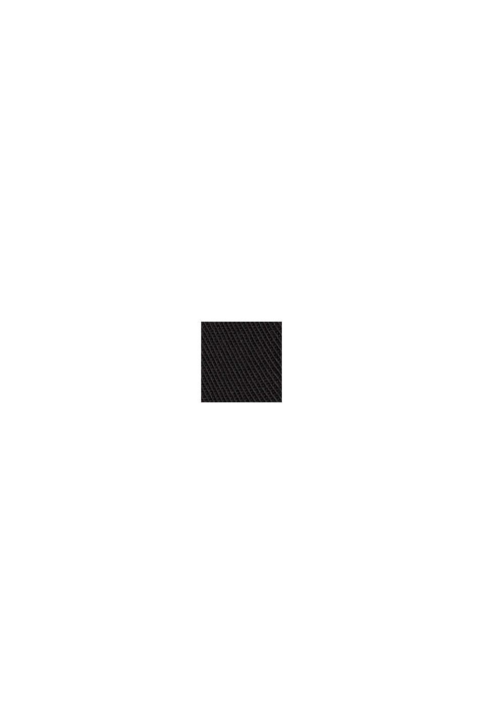 Blouse in TENCEL™ lyocell, BLACK, swatch