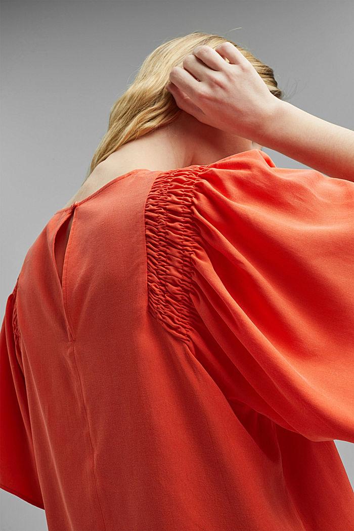Blouse, ORANGE RED, detail image number 2