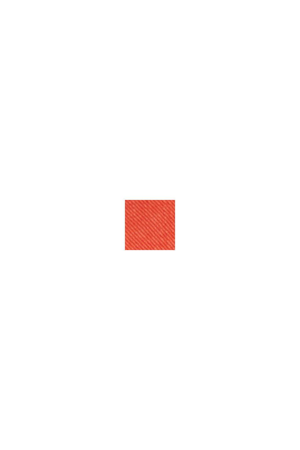 Blusa en lyocell TENCEL™, ORANGE RED, swatch