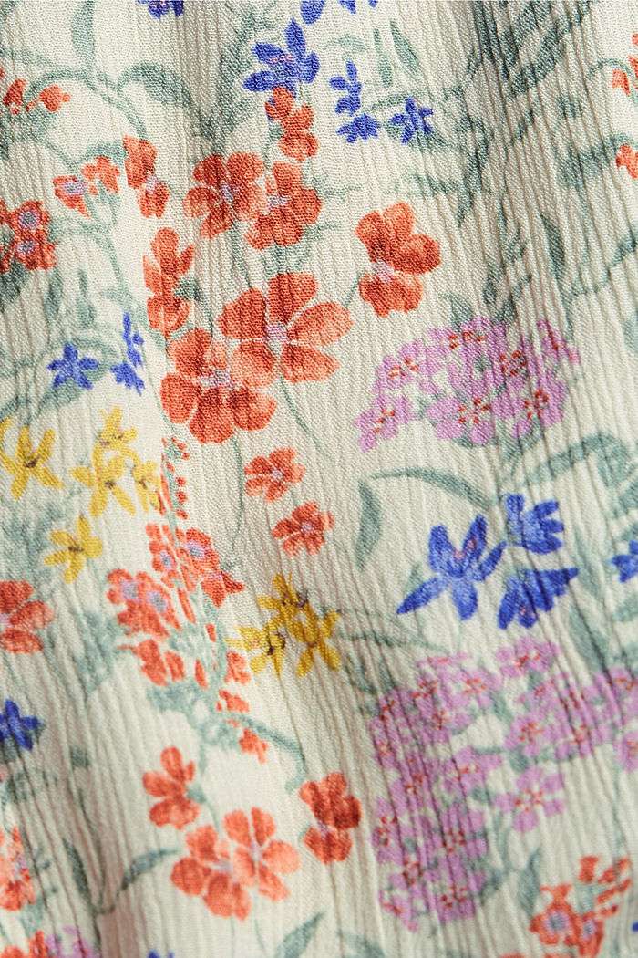 CURVY Print-Bluse aus LENZING™ ECOVERO™, OFF WHITE, detail image number 4
