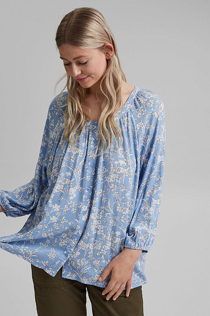 CURVY print blouse made of LENZING™ ECOVERO™