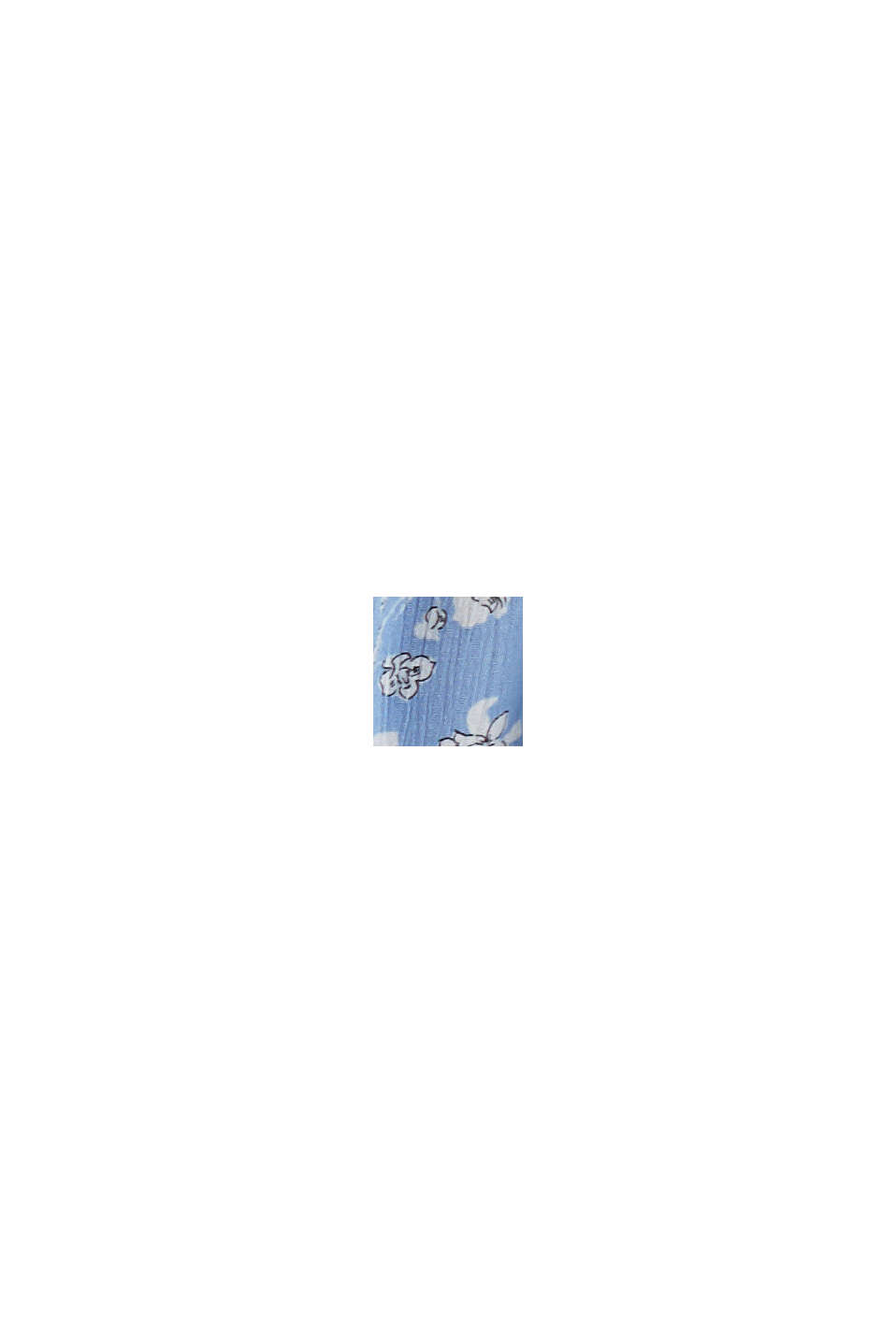 CURVY Print-Bluse aus LENZING™ ECOVERO™, LIGHT BLUE, swatch