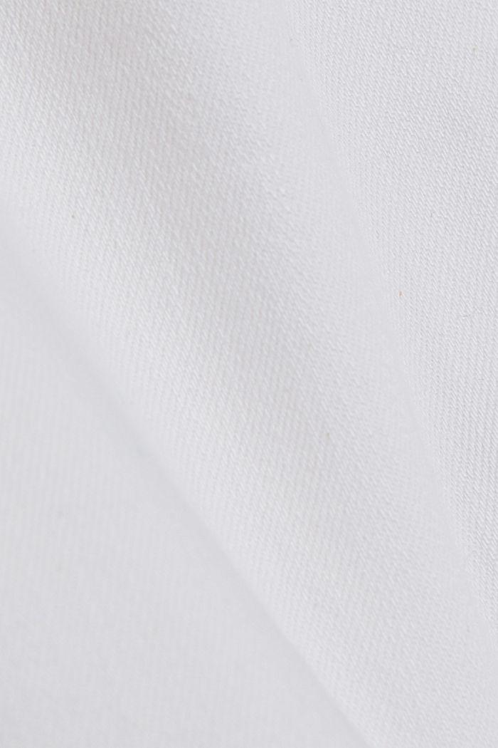 Denim jack met een oversized look, WHITE, detail image number 4