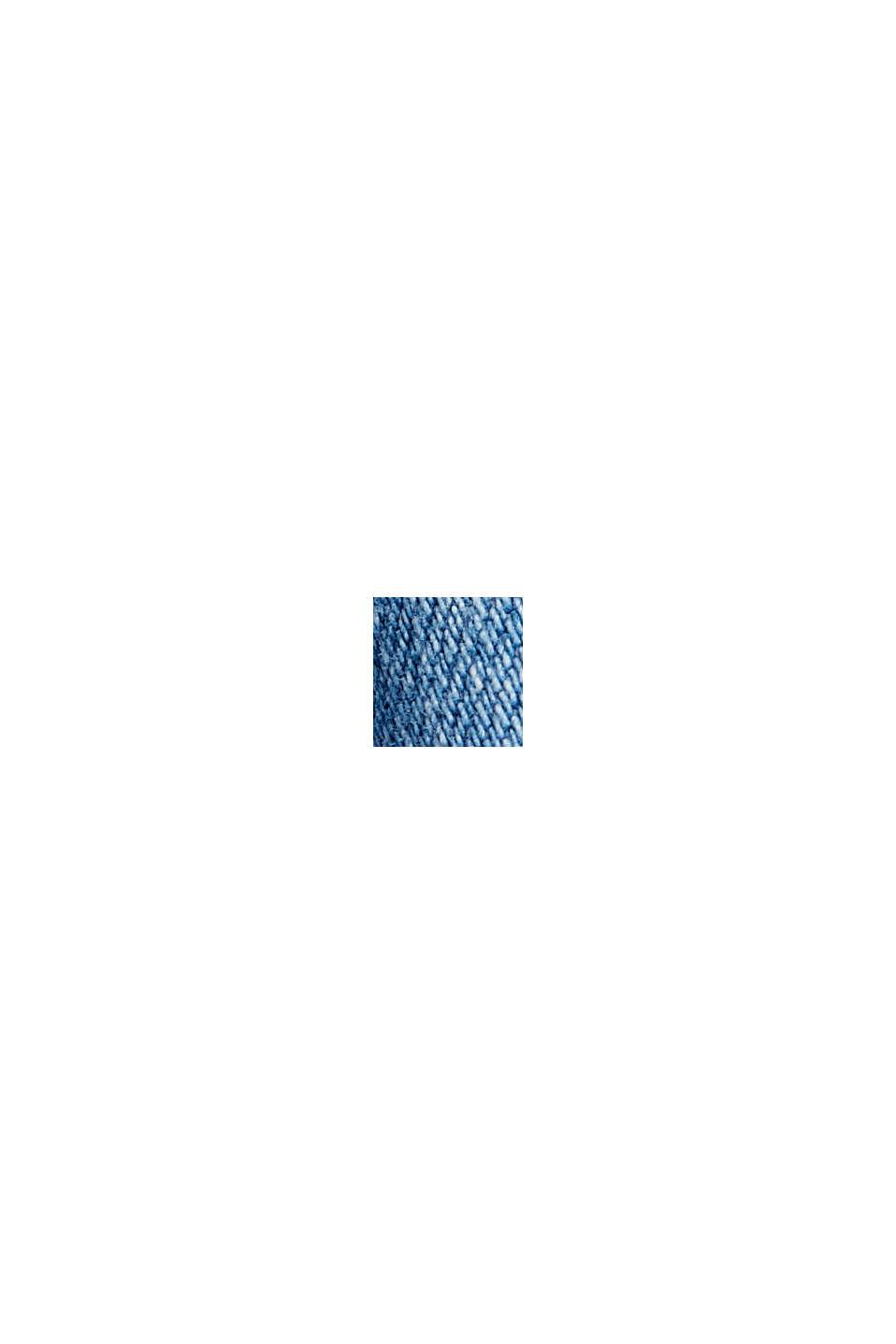 Denim jack van biologisch katoen, BLUE MEDIUM WASHED, swatch
