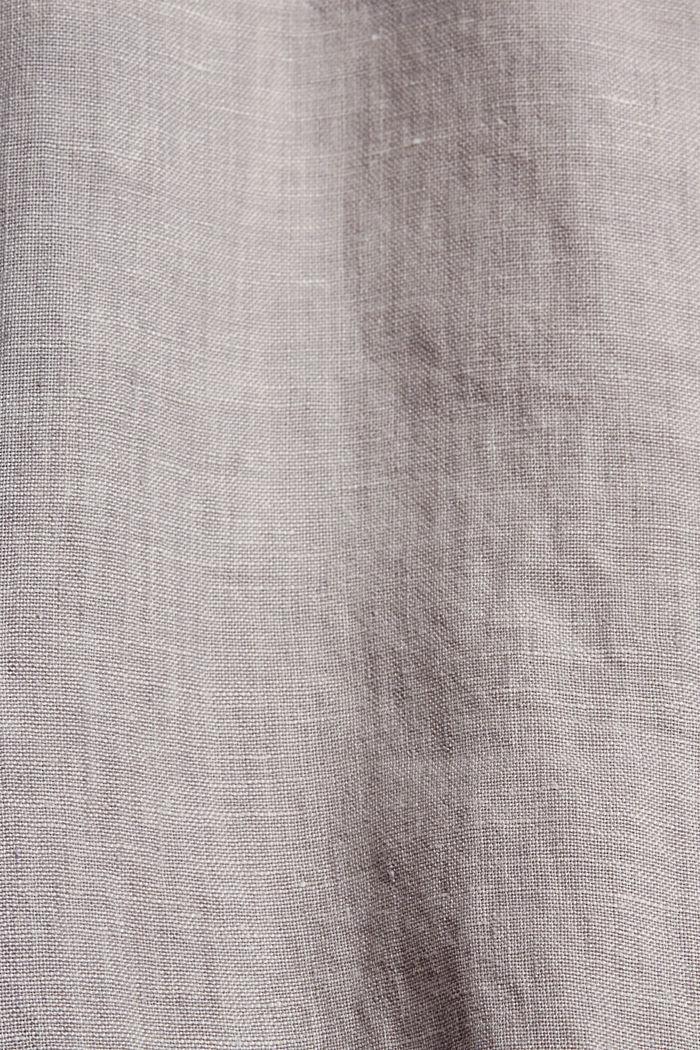 Feldjacke aus Leinen, LIGHT BEIGE, detail image number 4