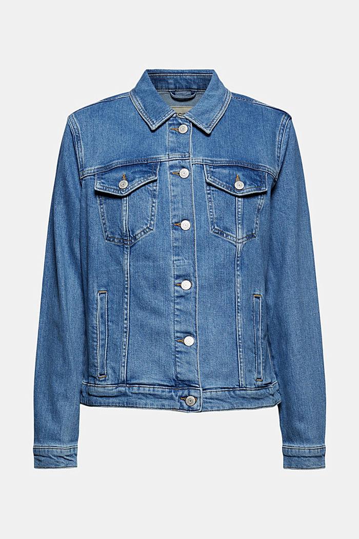 Oversized Jeansjacke aus Bio-Baumwolle