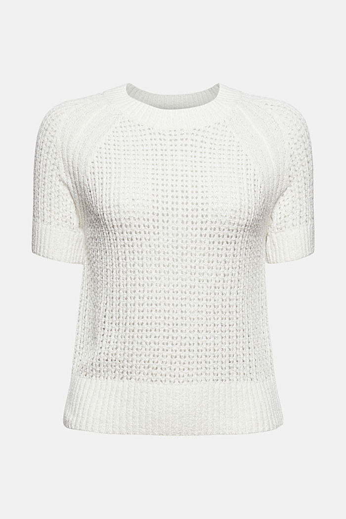 Kurzärmeliger Pullover aus Organic Cotton