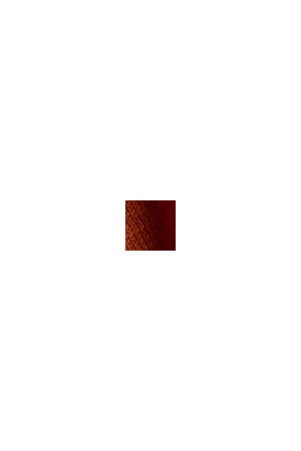 Offener Cardigan aus 100% Bio-Baumwolle, CARAMEL, swatch