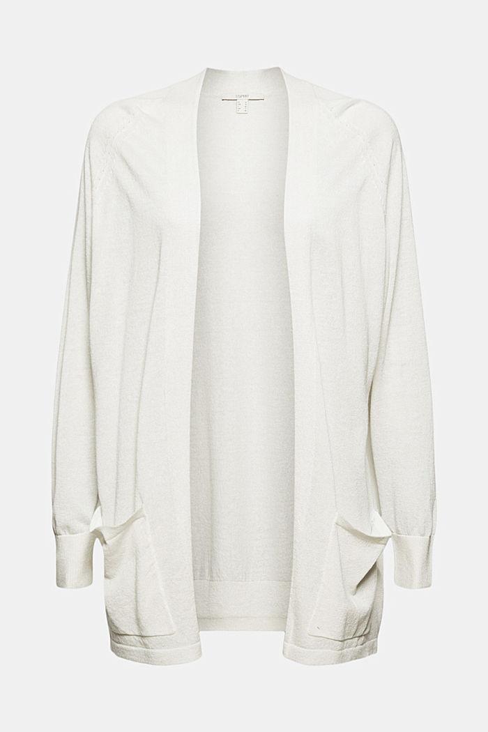 Met linnen: open, basic vest