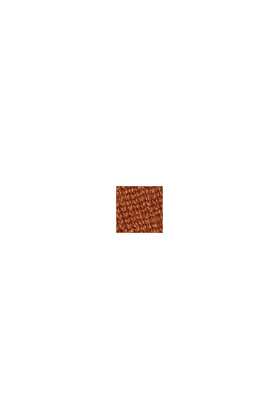 Linen blend: long, open-fronted cardigan, CARAMEL, swatch