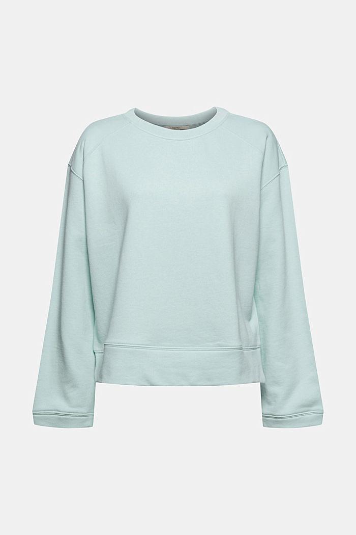 Striped sweatshirt in 100% cotton