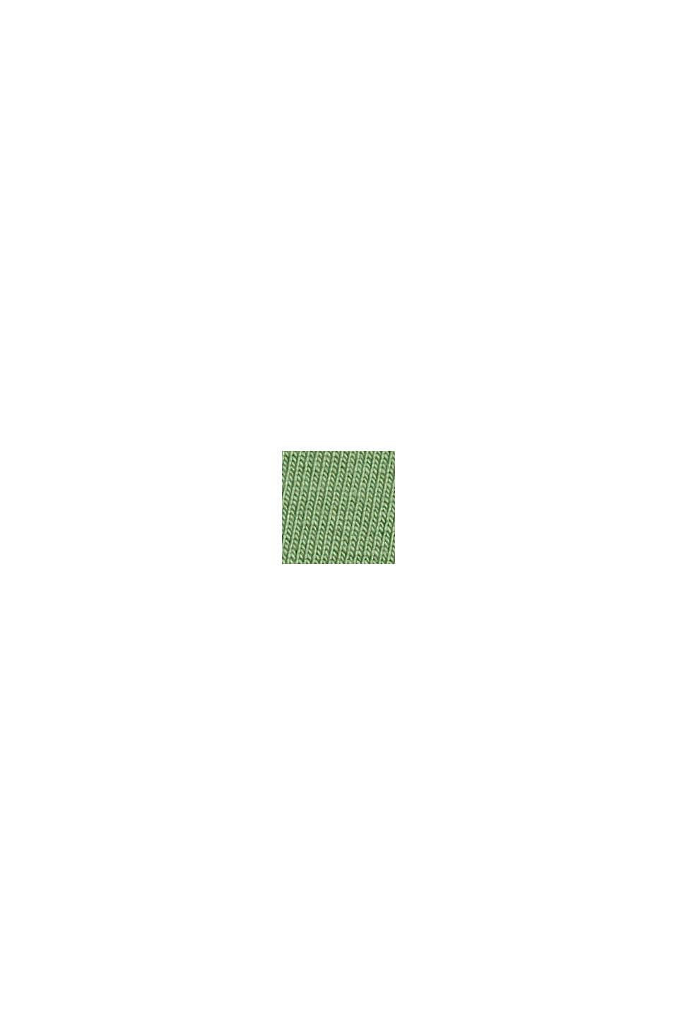 Basic T-shirt van biologisch katoen, LEAF GREEN, swatch