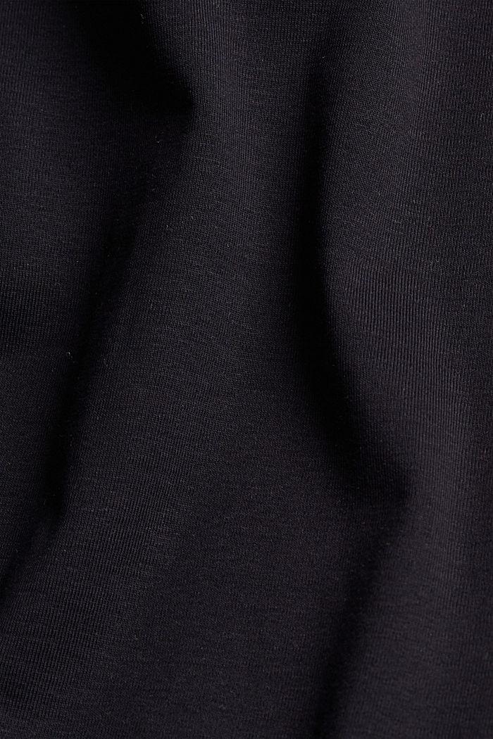 Top de tirantes en 100% algodón ecológico, BLACK, detail image number 4